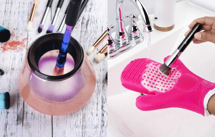Как в домашних условиях очистить кисти для макияжа