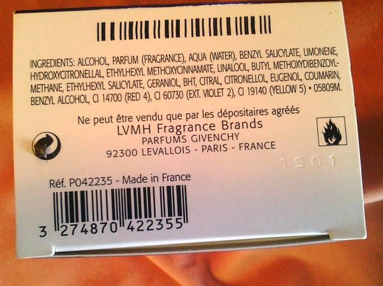 Определить срок годности парфюма можно по штрих коду